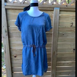 Cloth and Stone Anthropologie chambray Dress